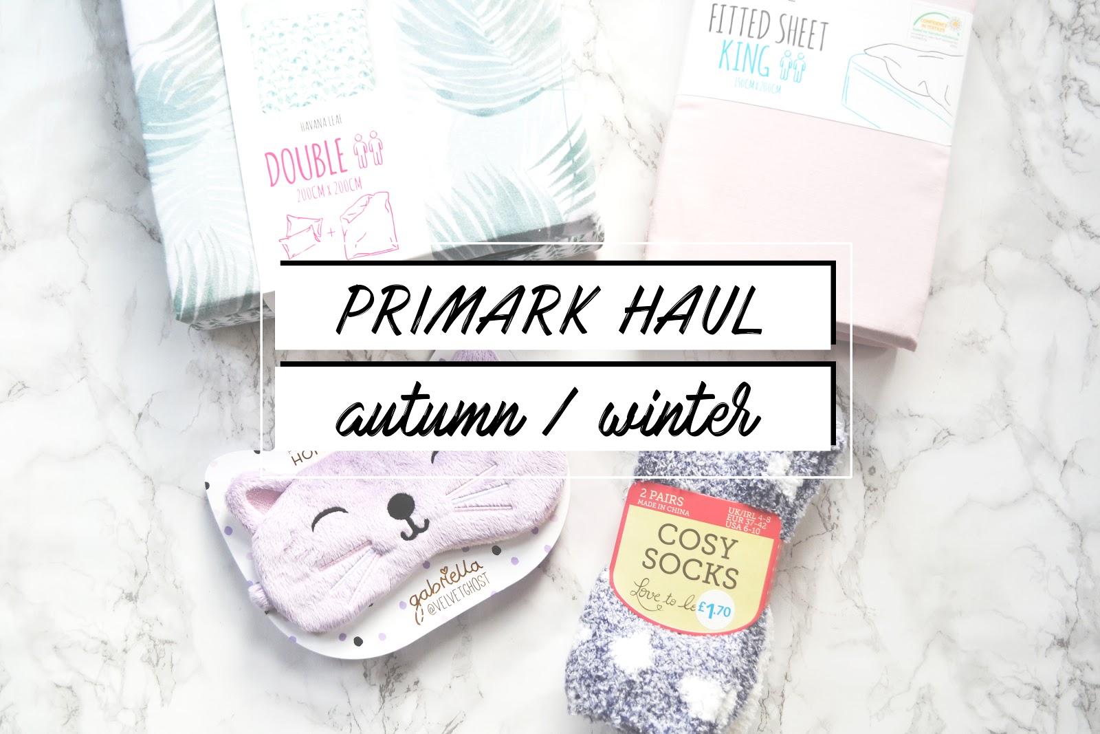 primark haul autumn winter 2016