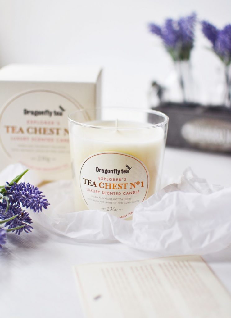 Dragonfly Tea Chest No1 Candle