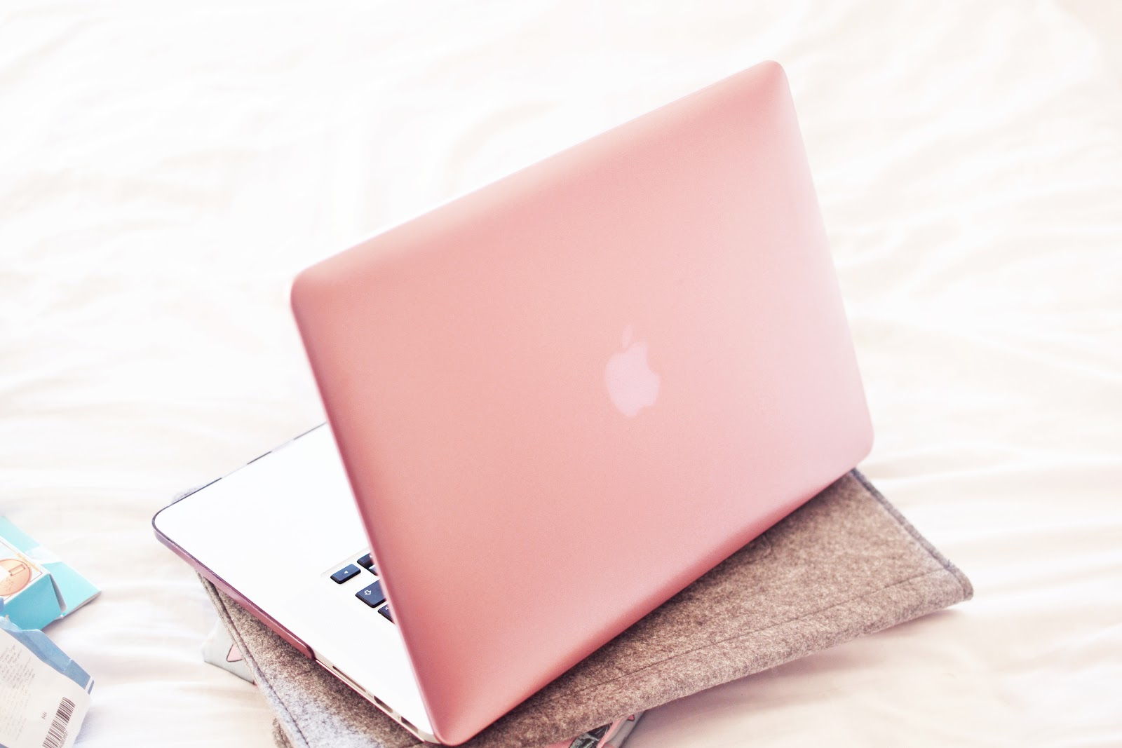 rose gold laptop cover case