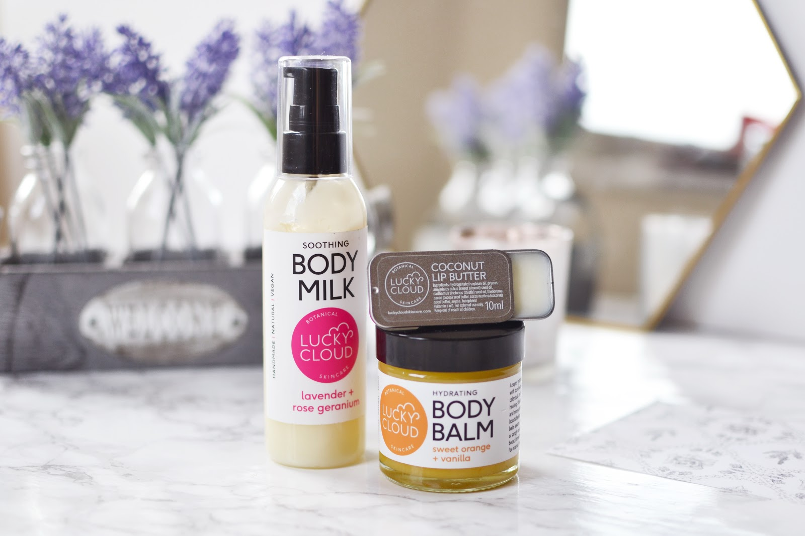 Lucky Cloud Soothing Body Milk