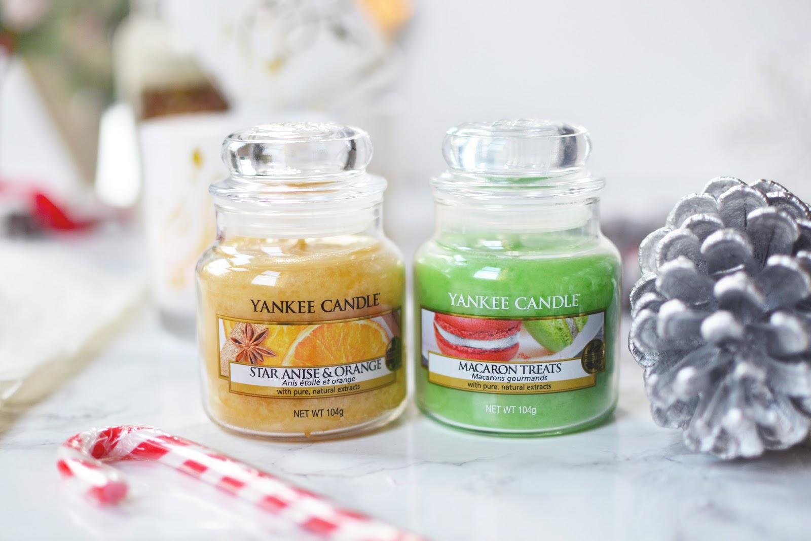 Yankee Candle Star Anise and Orange, Yankee Candle Macaron Treats
