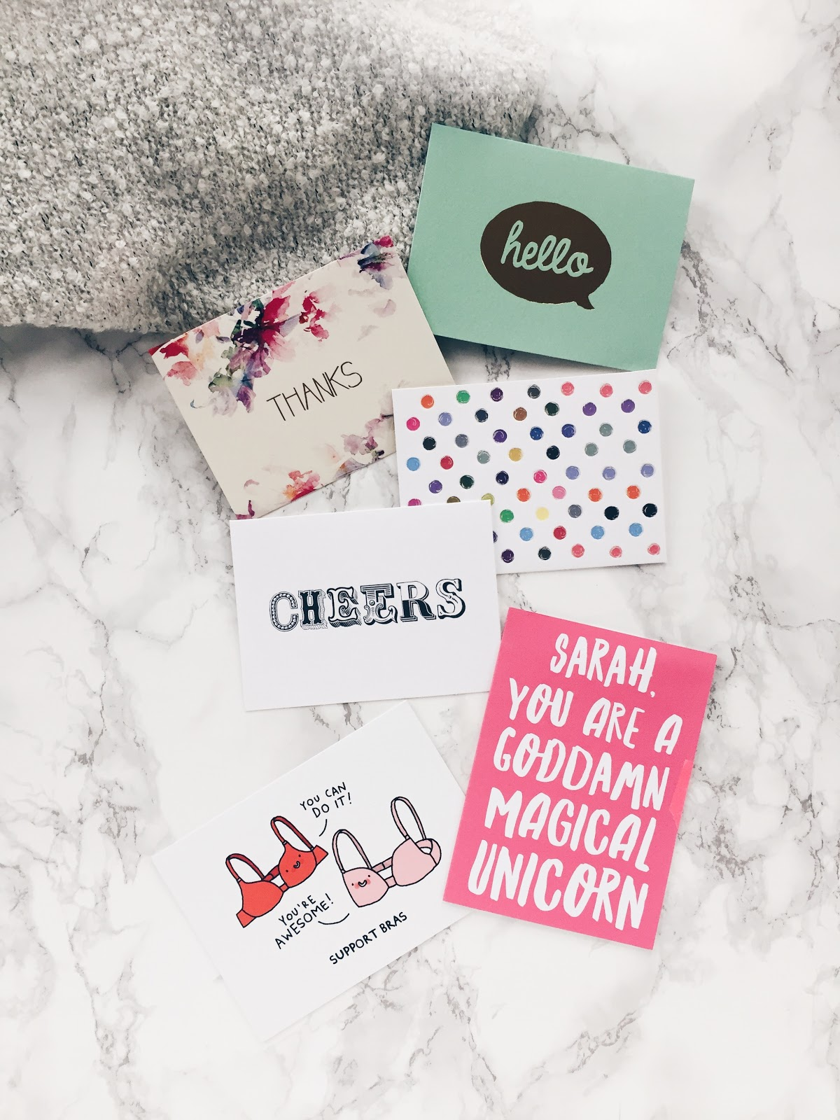 cute and unique greeting cards