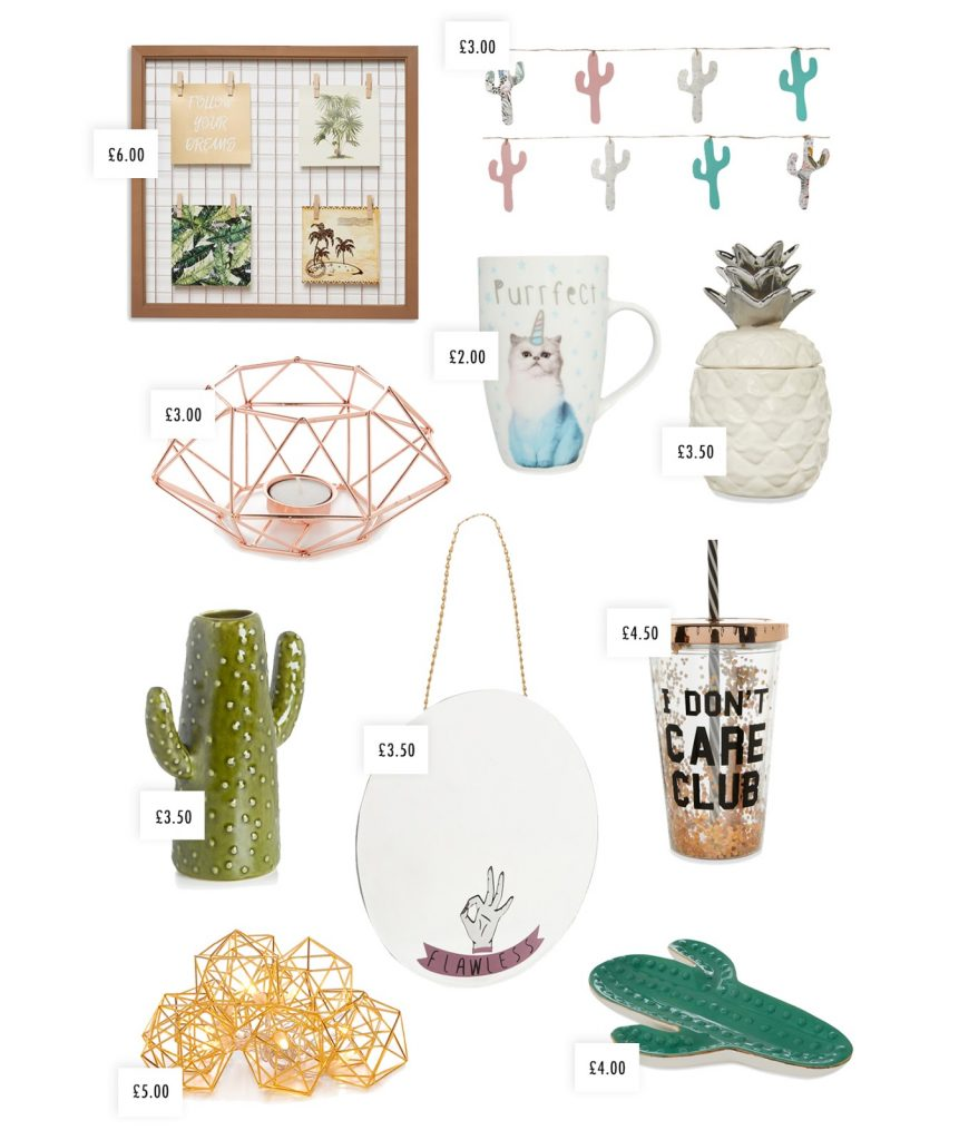 Primark Homeware spring summer 2017