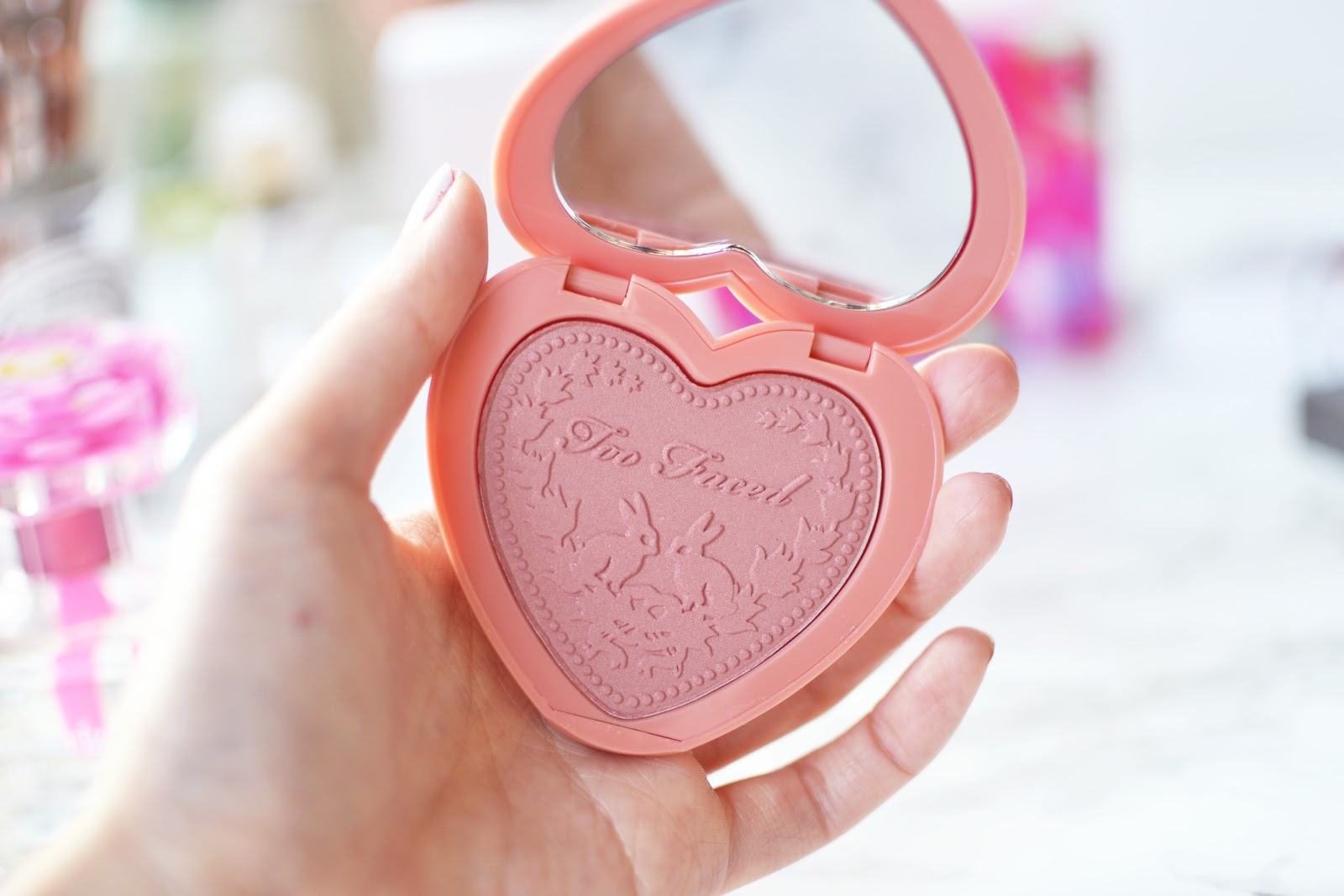 Too Faced Love Flush Long Lasting Blush in Baby Love