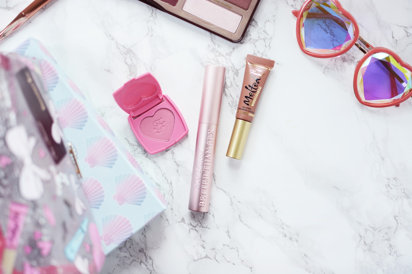 too faced make up, too faced and skinnydip london collaboration gift set