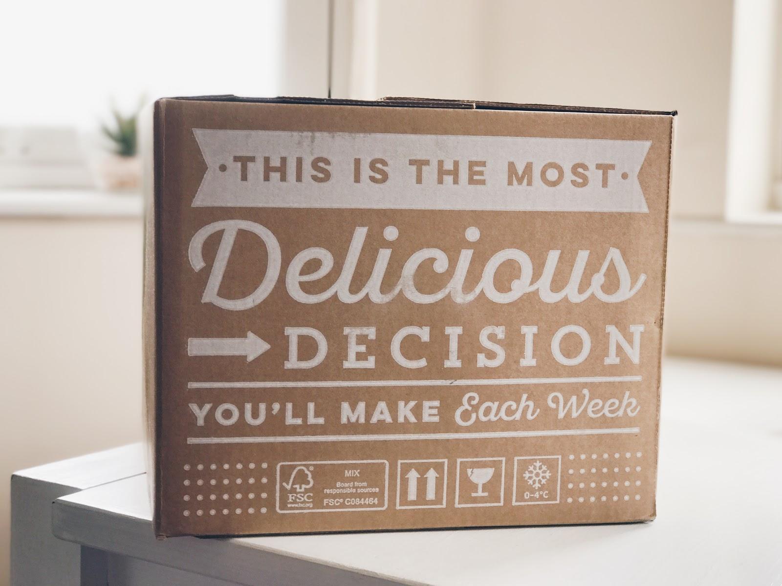 hellofresh subscription food box