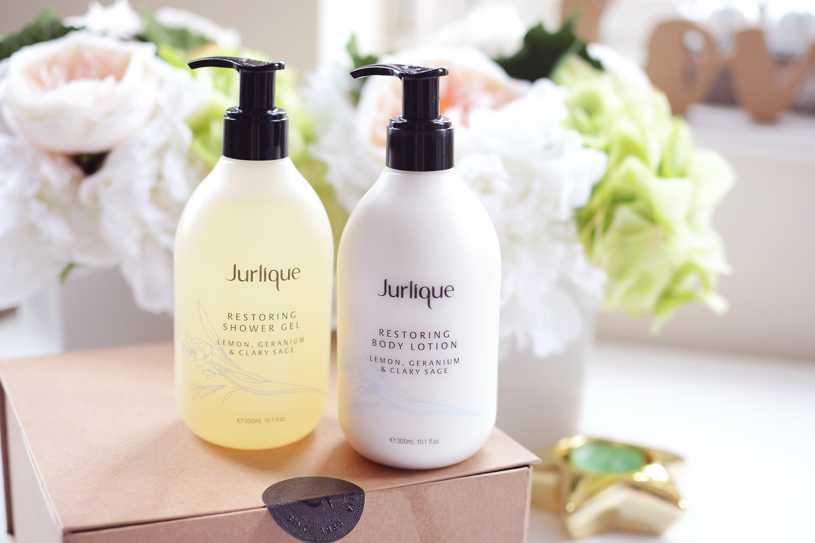 Jurlique body products