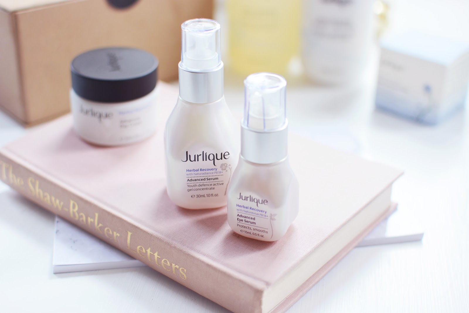 Jurlique Herbal Recovery Advanced Serum & Herbal Recovery Advanced Eye Serum