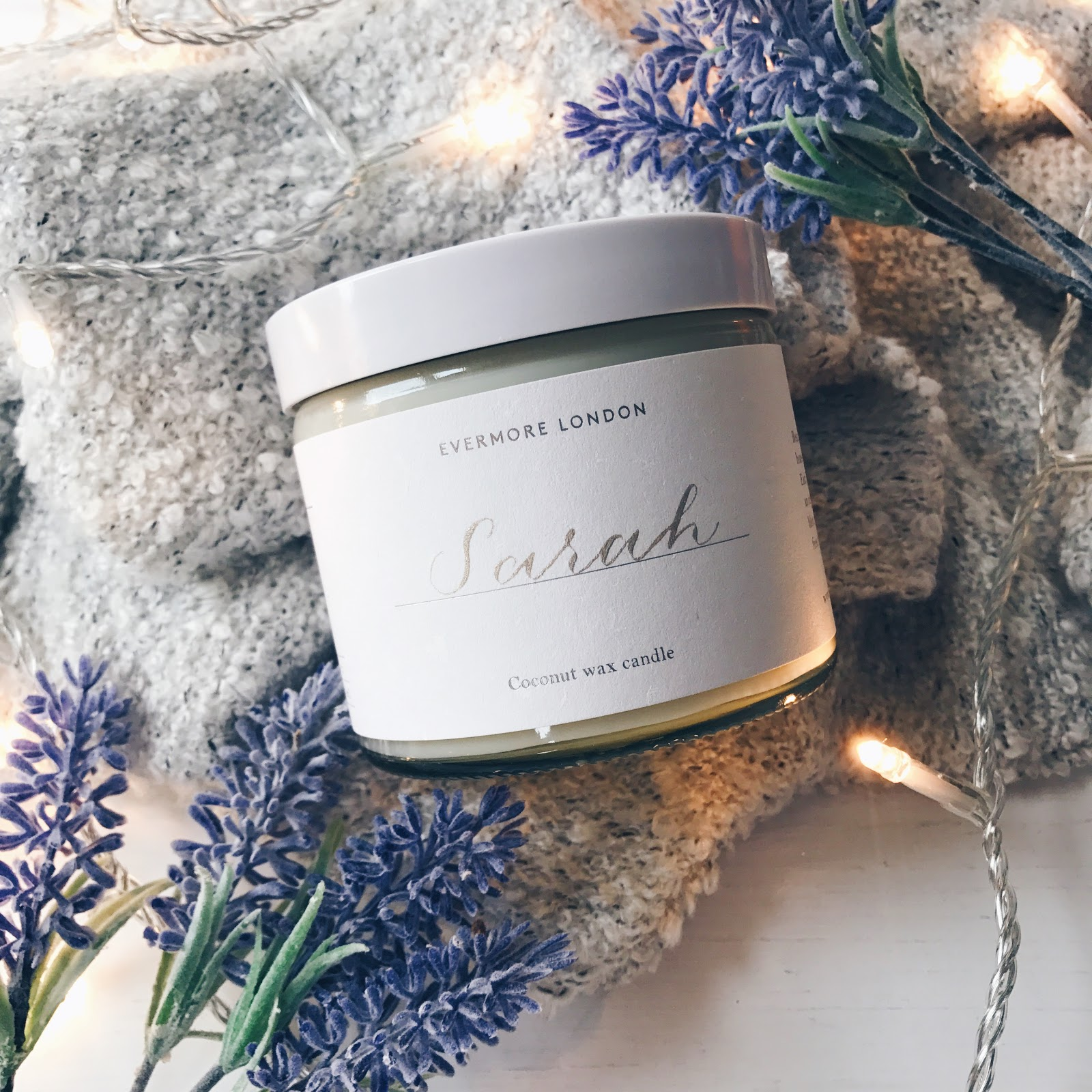 Evermore London Personalised Candle