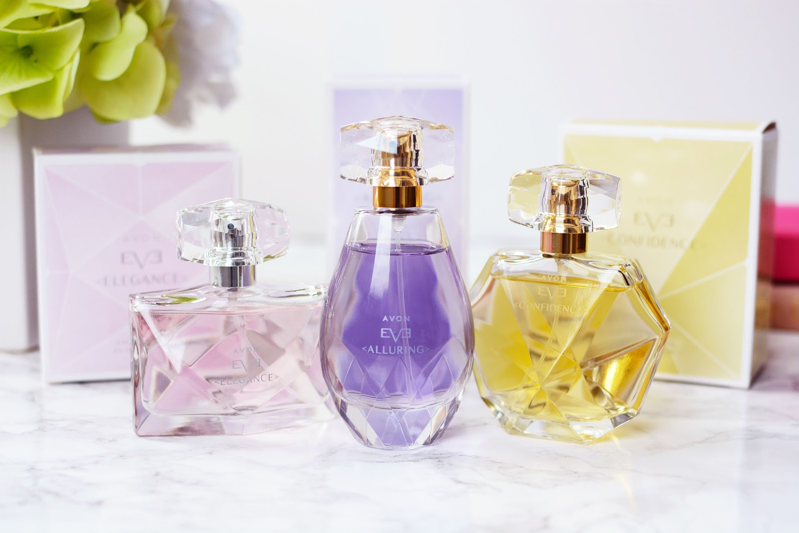 AVON perfume from the EVE Discovery collection, avon eve discovery perfume range