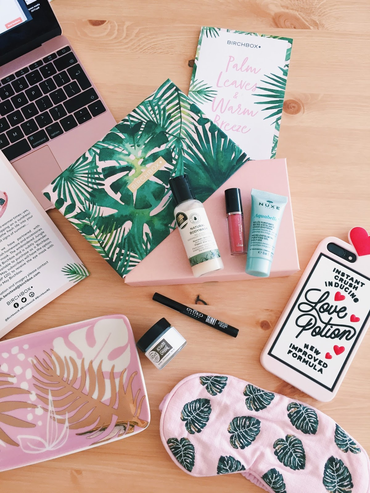 Birchbox May 2018: Palm Leaves and Warm Breeze