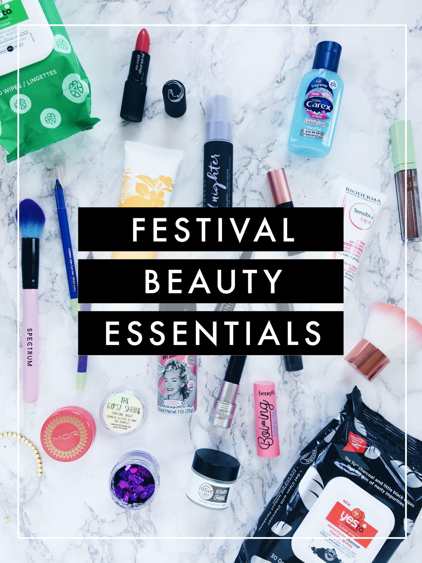 Festival Beauty Essentials Survival Kit
