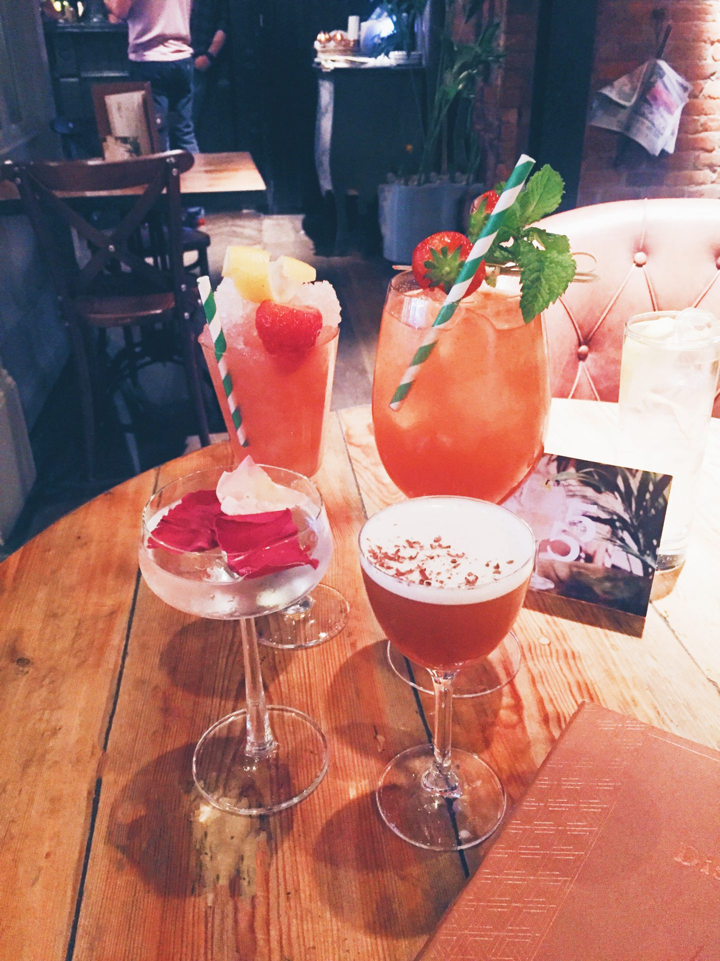 Summer cocktails offer in Newcastle