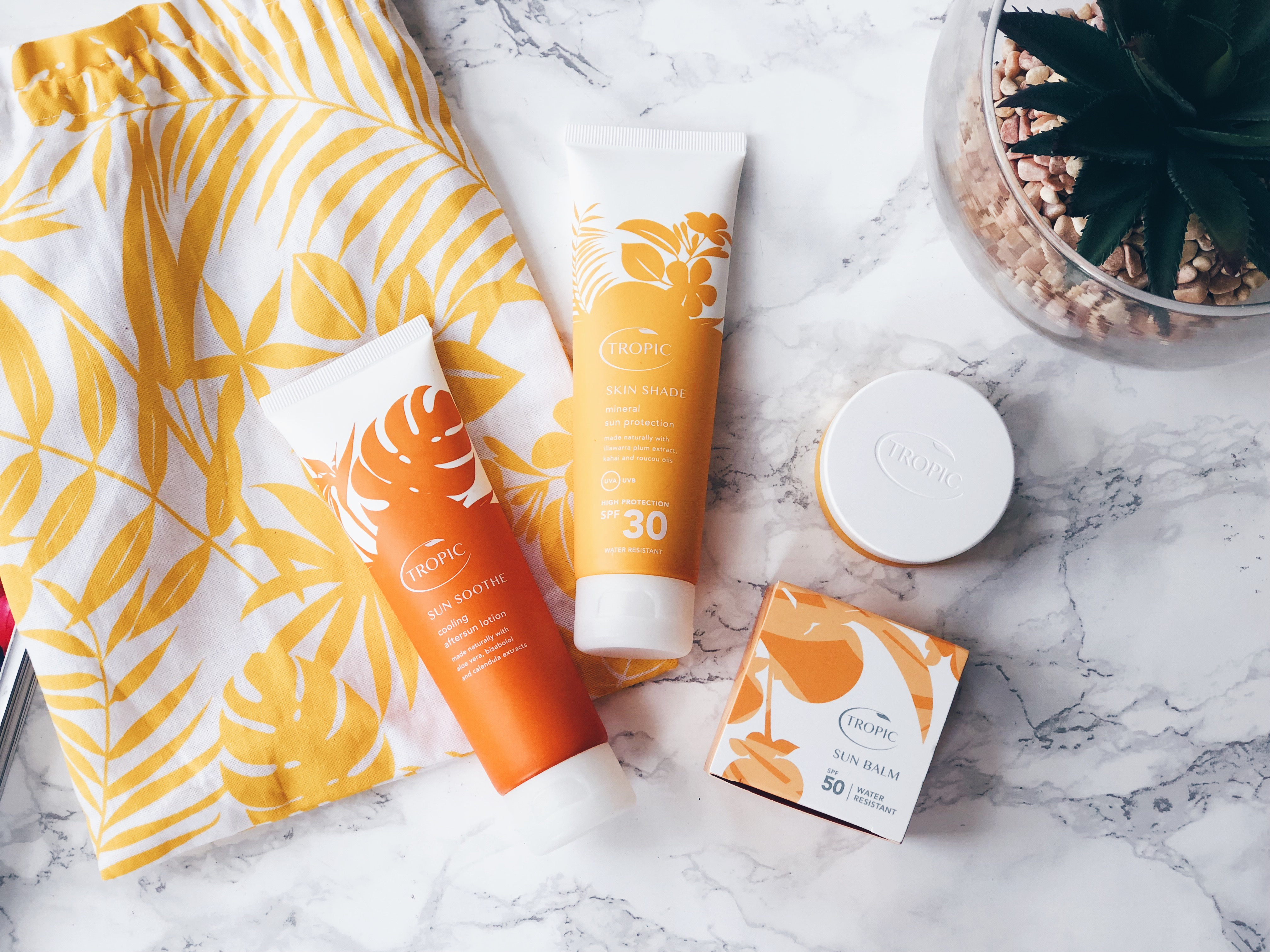 Tropic Skincare Suncare Kit