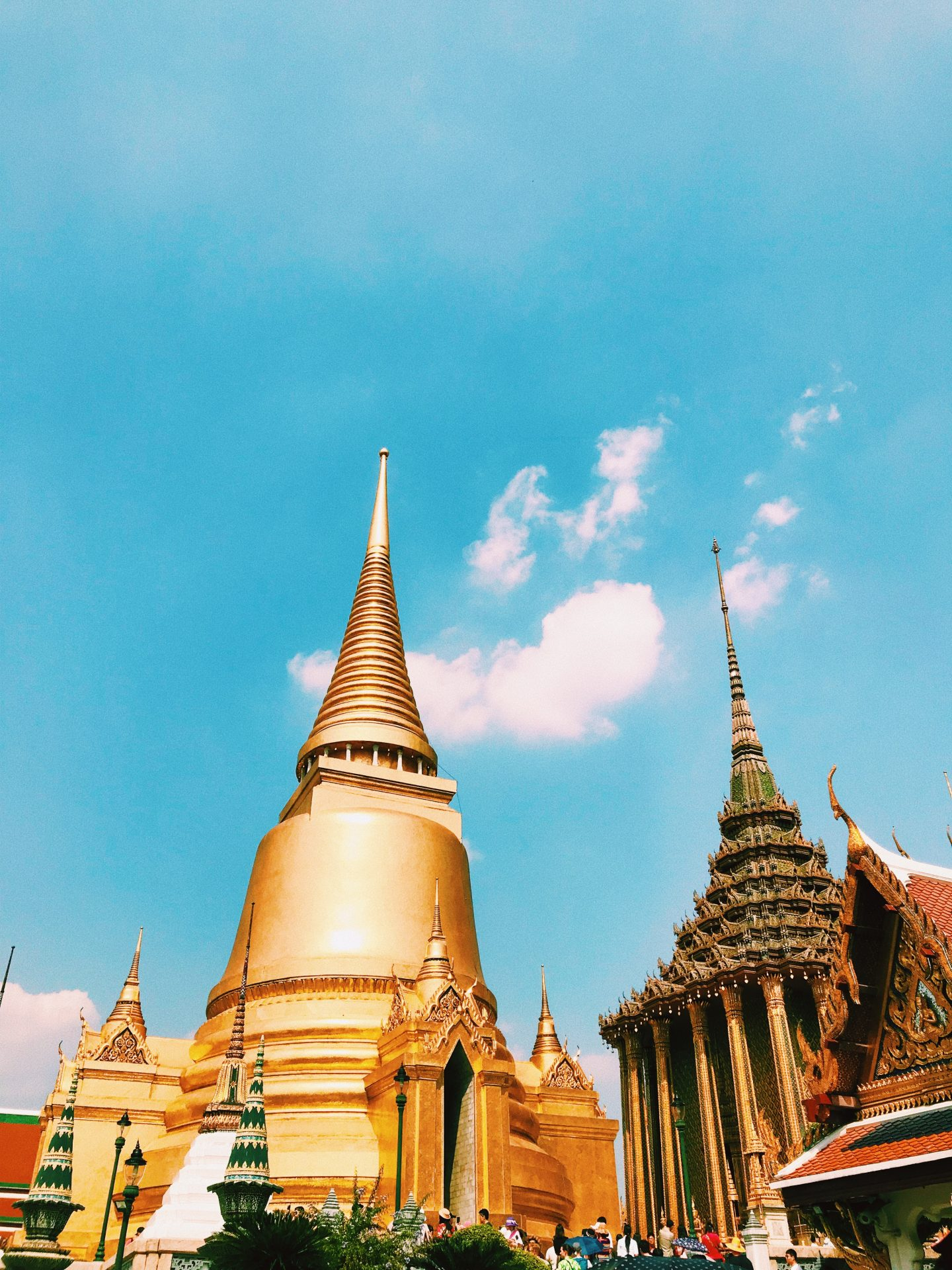 the grand palace in thailand