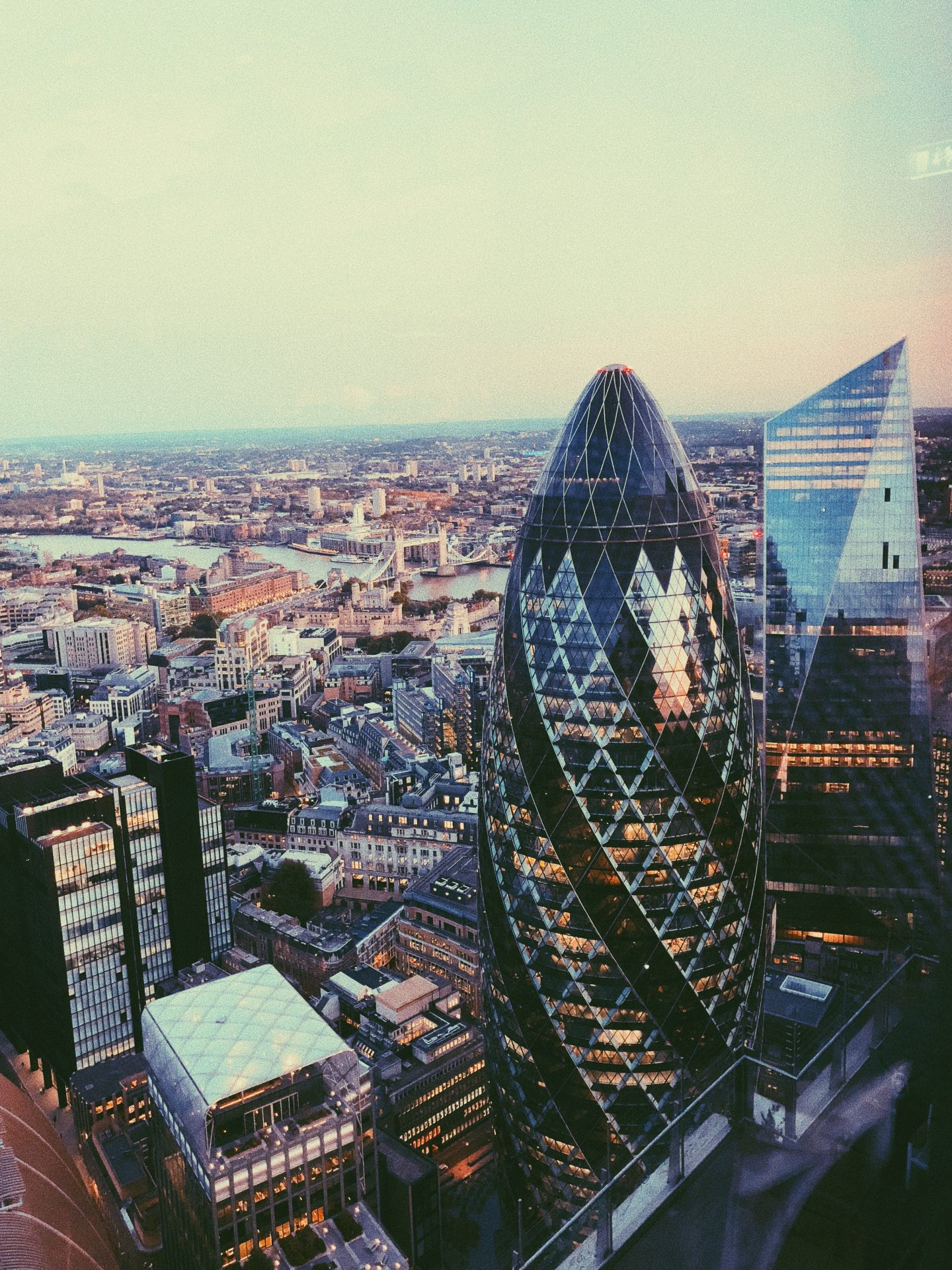 London duck and waffle