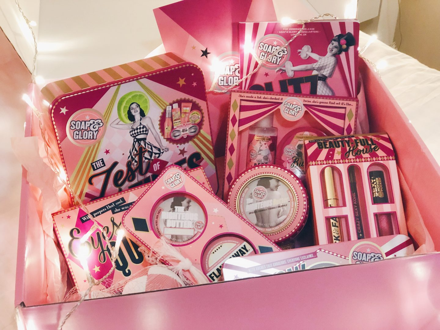 soap and glory christmas collection 2018