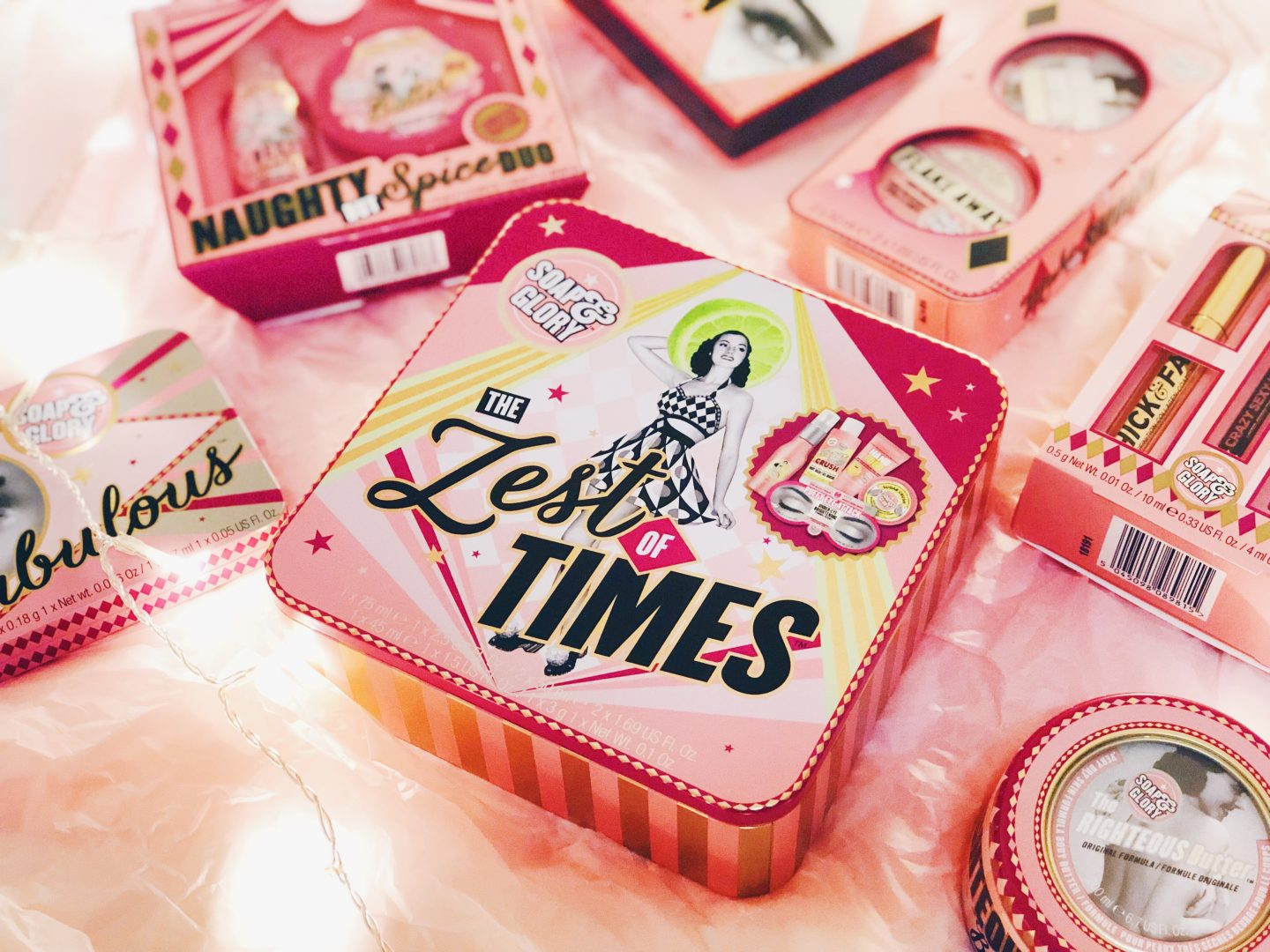 soap and glory 3 for 2 in boots christmas gift collection