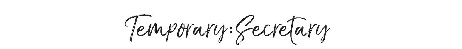 Temporary:Secretary Lifestyle Blog